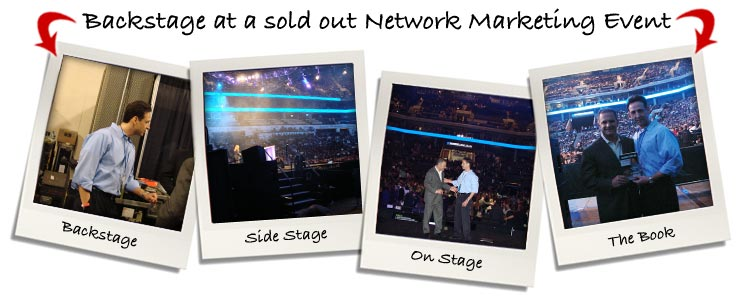 Backstage at a SOLD-OUT Network Marketing Event