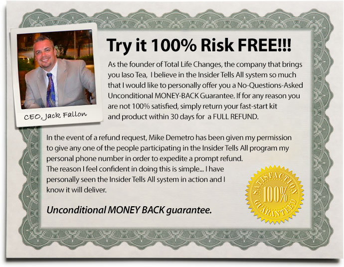 Try it 100% Risk FREE!!!
