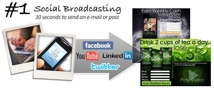 Social Broadcasting